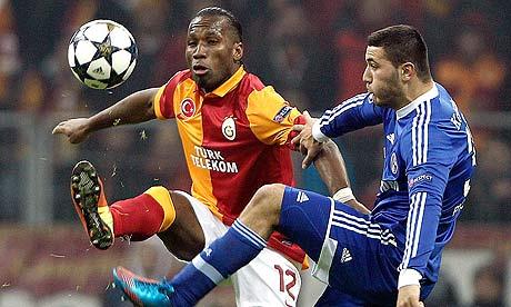 Didier Drogba Galatasaray Schalke